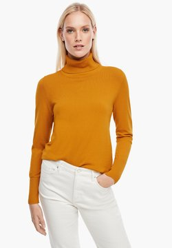 s.Oliver - Strickpullover - yellow