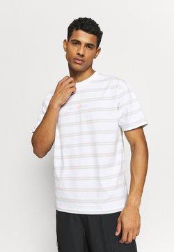 New Balance - ATHLETICS STRIPE - T-Shirt print - white