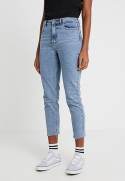 ONLY - ONLEMILY RAW MAE - Straight leg -farkut - light blue denim
