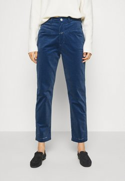 CLOSED - PEDAL PUSHER - Pantalones - archive blue