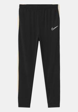 Nike Performance - UNISEX - Verryttelyhousut - black/saturn gold/white