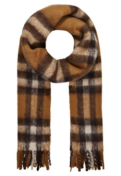 Pieces - PCILLA LONG SCARF - Sjaal - toasted coconut