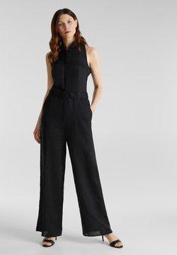 Esprit Collection - MIT WEITEM BEIN - Combinaison - black