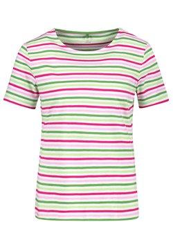 Gerry Weber - T-Shirt print - lila pink grün ringel