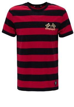 King Kerosin - T-Shirt print - black / red
