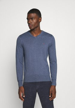 Tommy Hilfiger - Stickad tröja - blue