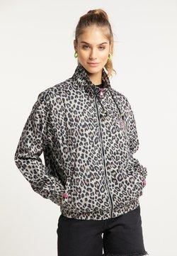 myMo - Trainingsjacke - beige leopard