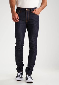 Nudie Jeans - THIN FINN - Slim fit jeans - organic dry ecru embo