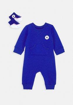 Converse - LIL CHUCK COVERALL SET UNISEX - Jumpsuit - blue