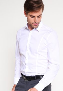 OLYMP No. Six - OLYMP NO.6 SUPER SLIM FIT - Camicia - weiss