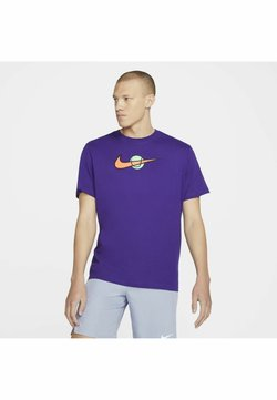 Nike Performance - TEE TENNIS - Camiseta estampada - court purple