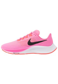 Nike Performance - AIR ZOOM PEGASUS 37 - Neutrala löparskor - pink glow/black/platinum violet/white