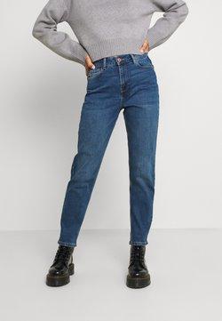Pieces - PCVERA MOM - Jeans fuselé - medium blue denim