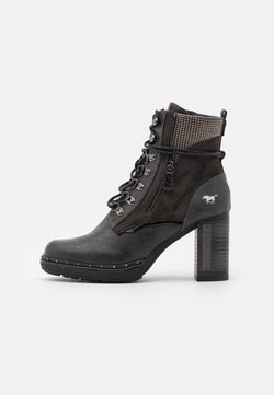 Mustang - High heeled ankle boots - graphit