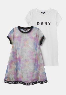 DKNY - 2-IN-1  - Jerseykleid - multi-coloured