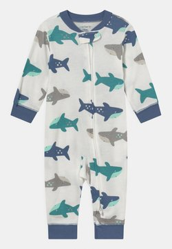 Carter's - SHARK - Pijama - white/blue