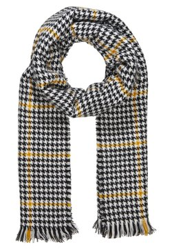 ONLY - ONLSIA SCARF  - Sjaal - cadmium yellow/black/cloud
