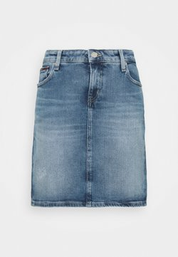 Tommy Jeans - CLASSIC SKIRT - Minirock - blue denim