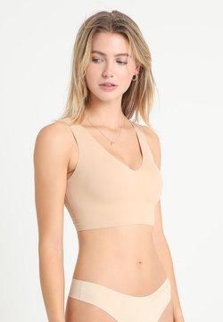 Calvin Klein Underwear - LINED BRALETTE V NECK - Bustier - beige