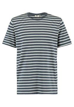 America Today - ELBA - T-Shirt basic - navy/white