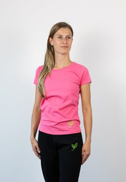 Biyoga - T-Shirt basic - rosa