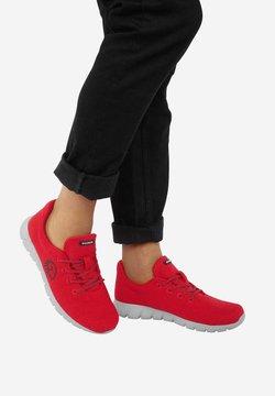Giesswein - MERINO RUNNERS - Sneaker low - red