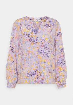 TOM TAILOR - FEMININE WITH PRINT - Bluse - lilac/yellow