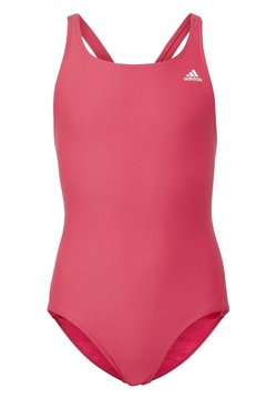 adidas Performance - SOLID FITNESS SWIMSUIT - Swimsuit - pink