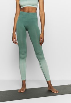 South Beach - SEAMLESS OMBRE LEGGINGS - Tights - blue spruce