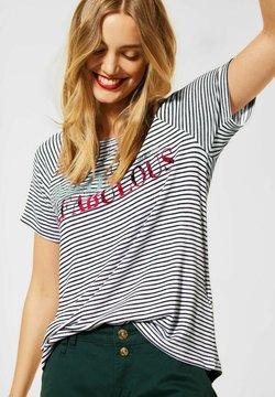 Street One - T-Shirt print - weiß