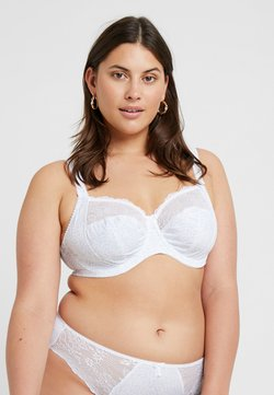 Elomi - MORGAN BANDED BRA - Beugel BH - white