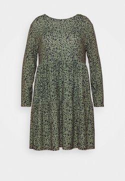 Evans - DRESS - Jerseykleid - khaki