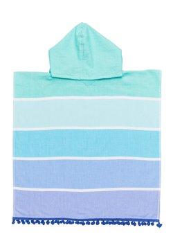 Sunnylife - KIDS HOODED FOUTA TOWEL - Badjas - turquoise
