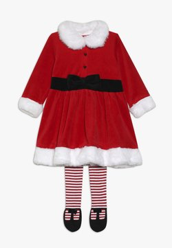 mothercare - BABY FEST MRS SANTA SET - Leggingsit - red