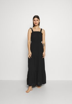 Marks & Spencer London - TIE TIERED DRESS - Accessoire de plage - black