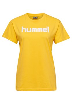 Hummel - HMLGO  - T-shirt print - sports yellow