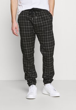Cotton On - DRAKE CUFFED PANT - Stoffhose - shadow