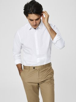 Selected Homme - Camisa - white