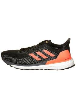 adidas Performance - SOLAR BOOST - Zapatillas de running estables - core black/signal coral/gold metallic