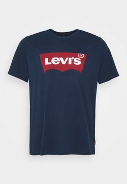 Levi's® Plus - BIG GRAPHIC TEE - T-shirt imprimé - dress blues