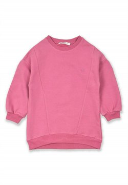 Cigit - Embroidery Detailed Tunic Sweatshirt (2 to 7 years) - Sweater - rose