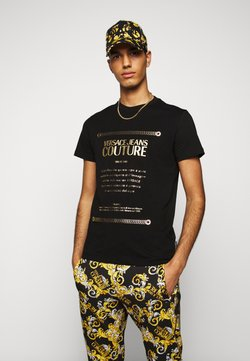 Versace Jeans Couture - MOUSE - Printtipaita - black