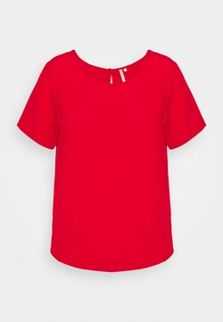 ONLY Carmakoma - CARLUXMAJA SOLID - Bluse - mars red