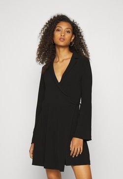 Nly by Nelly - SOFT BLAZER DRESS - Korte jurk - black