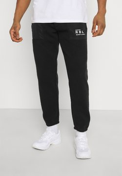 Redefined Rebel - EDRIC PANTS - Jogginghose - black