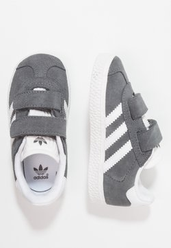 adidas Originals - GAZELLE - Sneaker low -  dgh solid grey/footwear white