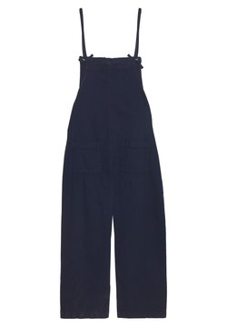 Monki - MONA DUNGAREES - Salopette - blue medium dusty