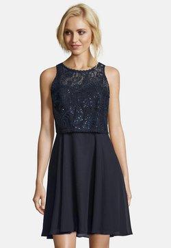 Vera Mont - MIT SPITZE - Cocktailkleid/festliches Kleid - night sky