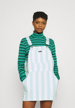 Obey Clothing - REX OVERALL DRESS - Vestido informal - china blue