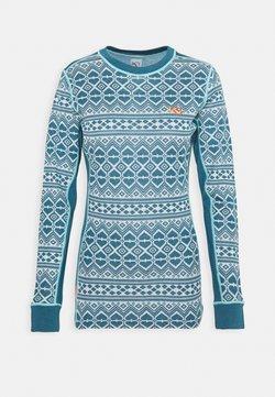 KariTraa - HJERTE - Unterhemd/-shirt - ocean